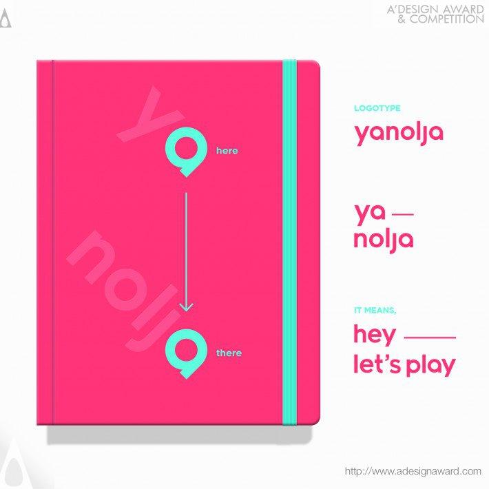 Yanolja (Corporate Identity Design)