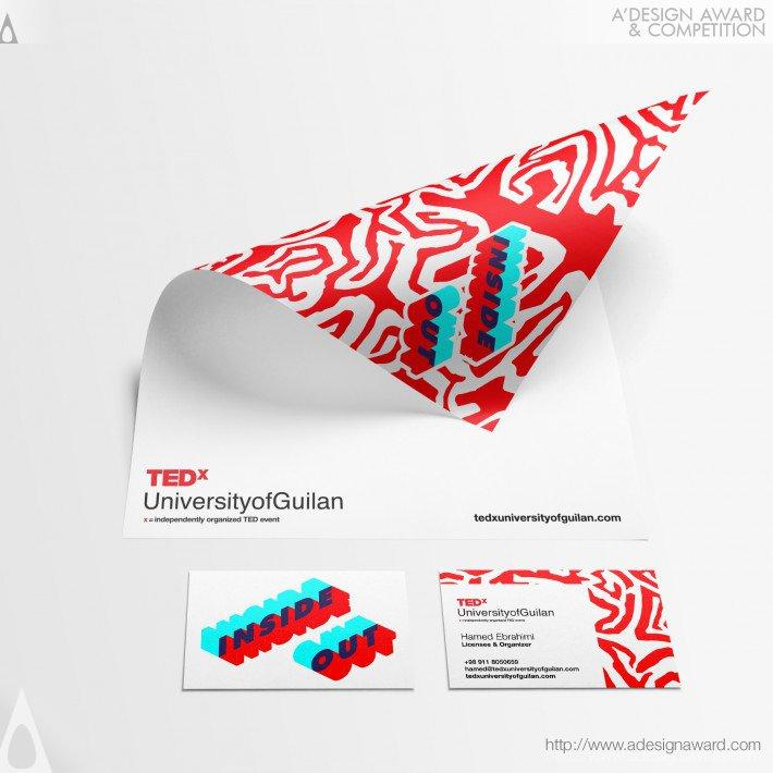 Tedxuniversityofguilan (Visual Identity Design)