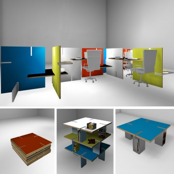 multi furniture. bojo multifunction modular furniture by helen brasinika multi