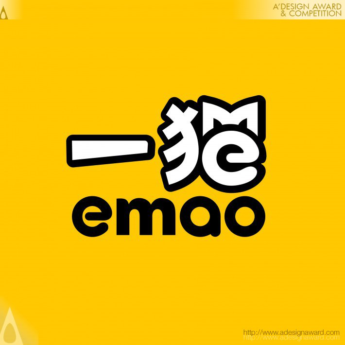 Emao.com Logo and Vi by Dongdao Creative Branding Group