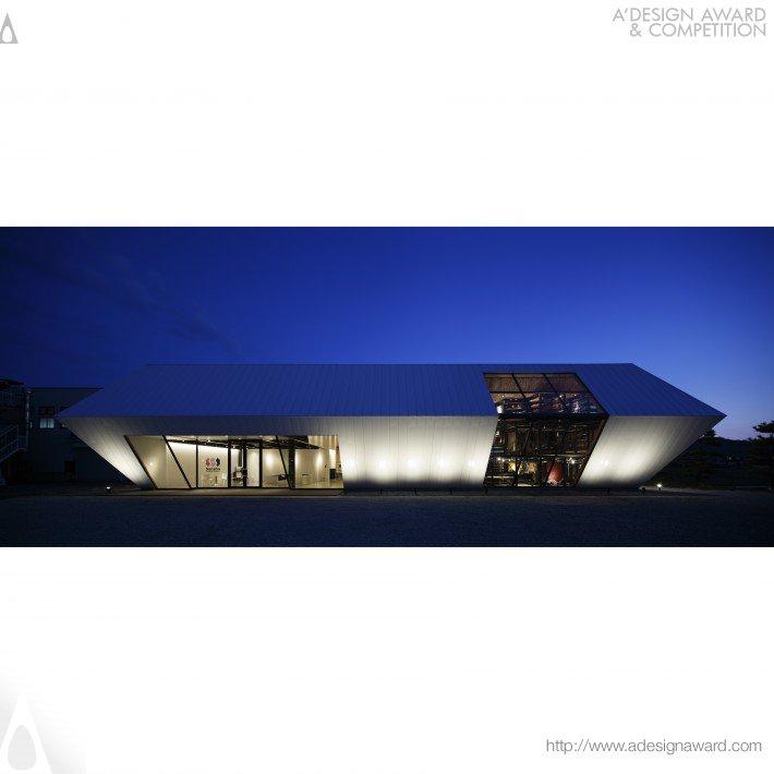 Origami Ark (Show Room Design)