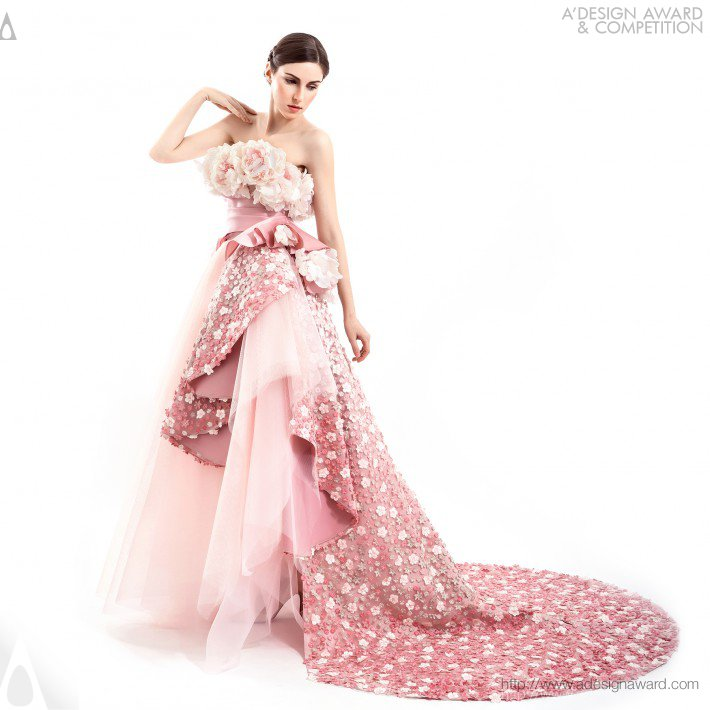 Kelly Ng Hiew Mui - Oriental Garden Couture Dresses Collection