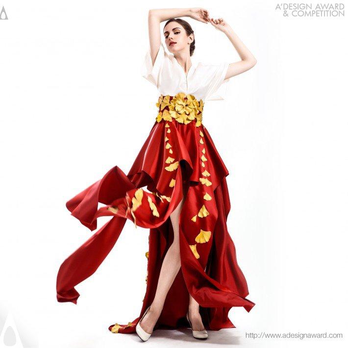 Oriental Garden (Couture Dresses Collection Design)