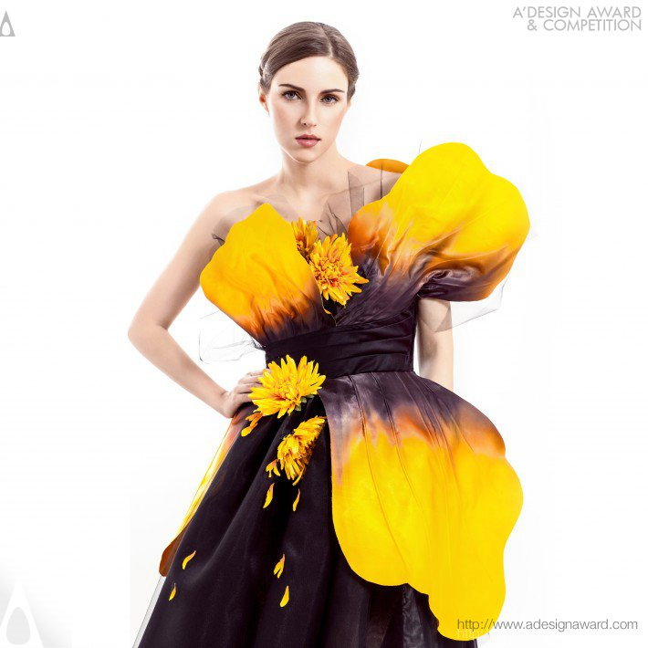 Oriental Garden Couture Dresses Collection by Kelly Ng Hiew Mui
