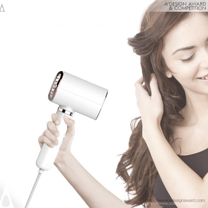 Iron Dryer (2 in 1 Steam Iron and Hair Dryer Design)