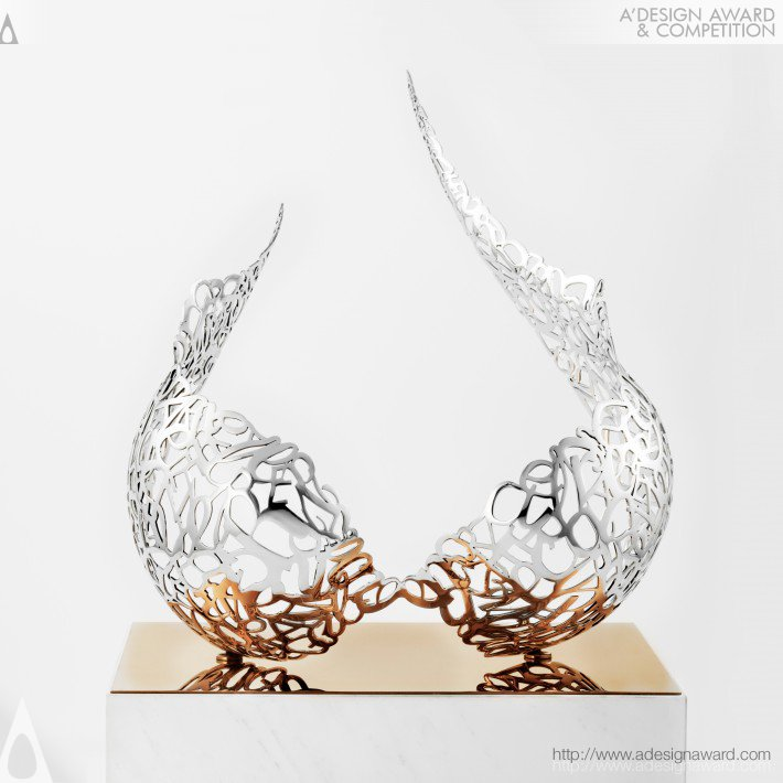 The Wings (Sculpture Art Design)