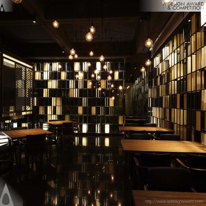 Suigetsu Japanese Restaurant (Japanese Restaurant Design)