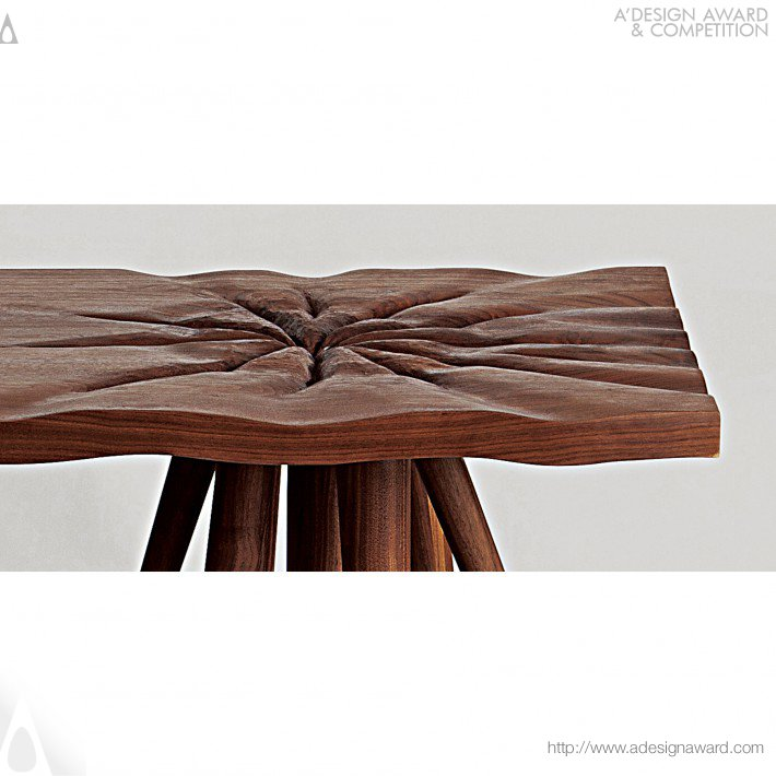 Table and Chair by Ara Kim