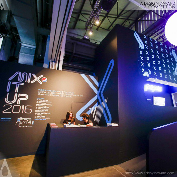 PepsiCo Design & Innovation - Pepsico Mix It Up 2016 Interior