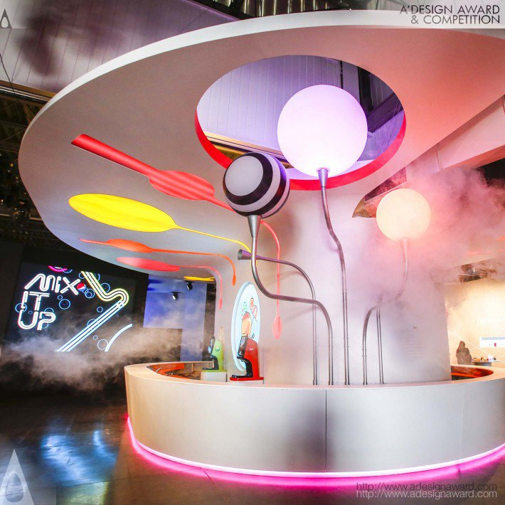 Pepsico Mix It Up 2016 Interior by PepsiCo Design & Innovation