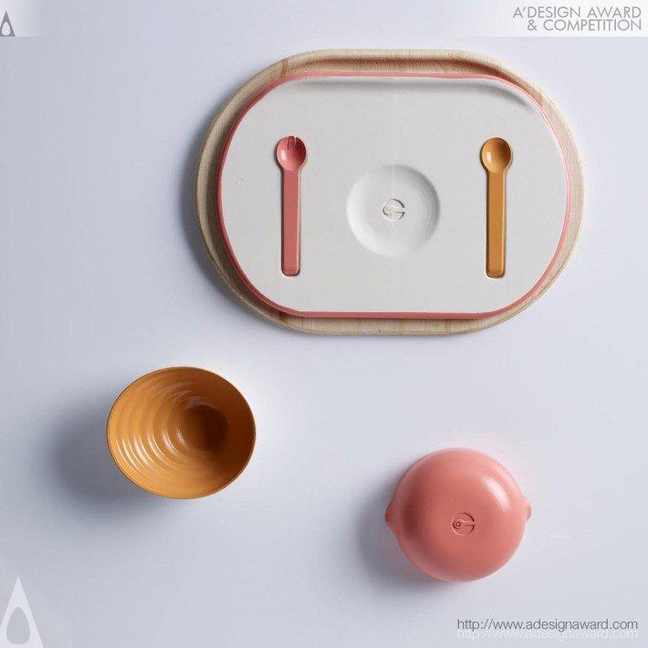 Ium (Sensory Tableware Set Design)