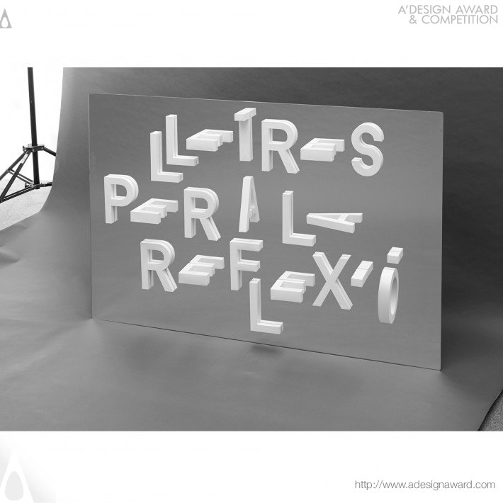 Reflexio (Typography Project Design)