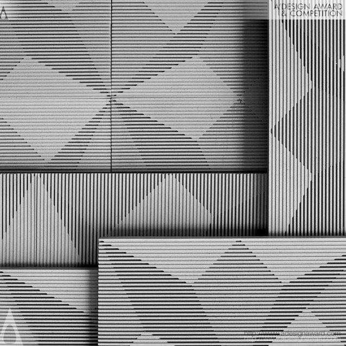 Shadow Wall Tiles by Xu Gang and Chen Wei-Kang