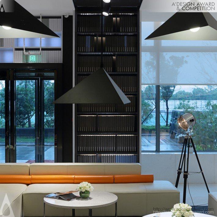 Nanjing Orange Crystal Hotel Lobby (A Hotel Lobby Design)