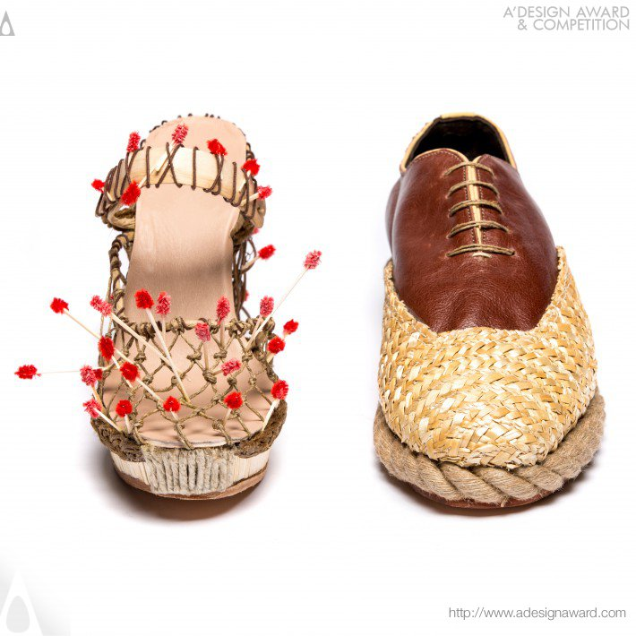 Couple Shoes (Footwear Design)