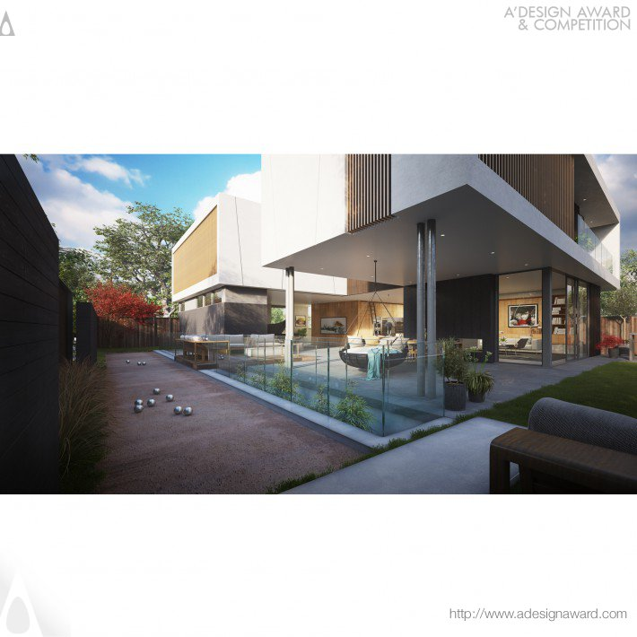 Colega Architects - Bh International Residence Residential House