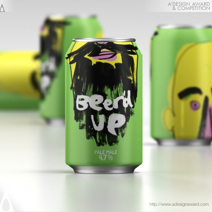 Beer'd Up (Beer Packaging Design)