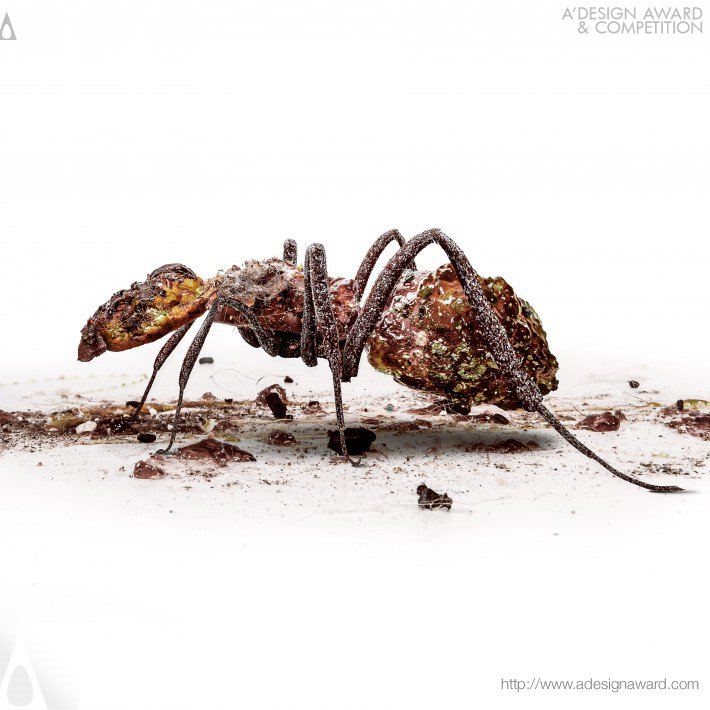 Insect Sculptures (Advertising Design)