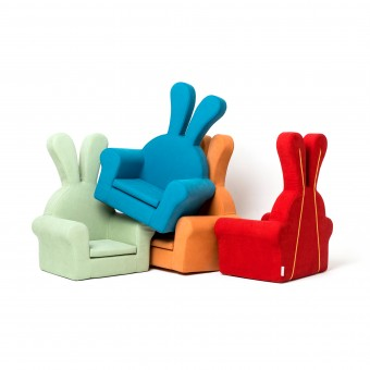 honeydew rabbit baby soft chair couch. Black Bedroom Furniture Sets. Home Design Ideas