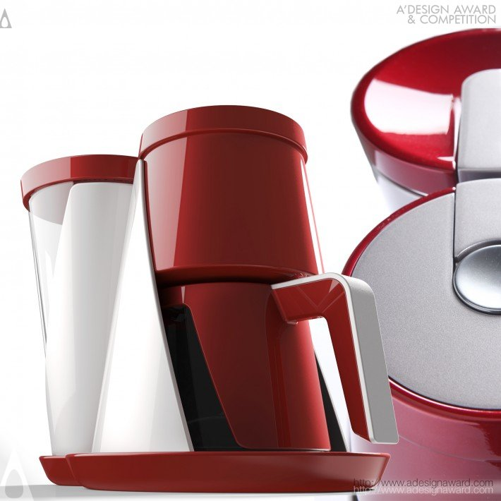 Vestel ID Team - Mood Breakfast Set Kettle, Coffee and Tea MacHine, Toaster