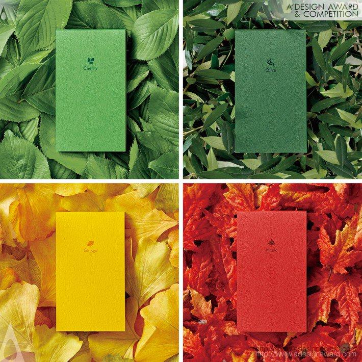 Seasonal Colors (Memo Pad Set Design)