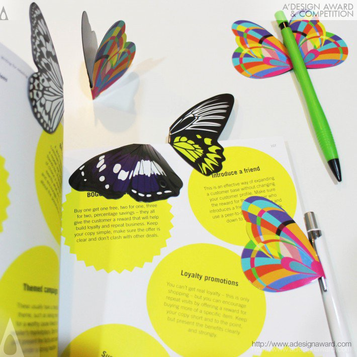 Butterfly Magnetic Effects Multi-Functional Pen Holder by Rachel Chen