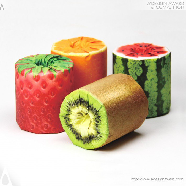 The Fruits Toilet Paper (Packaging Design)