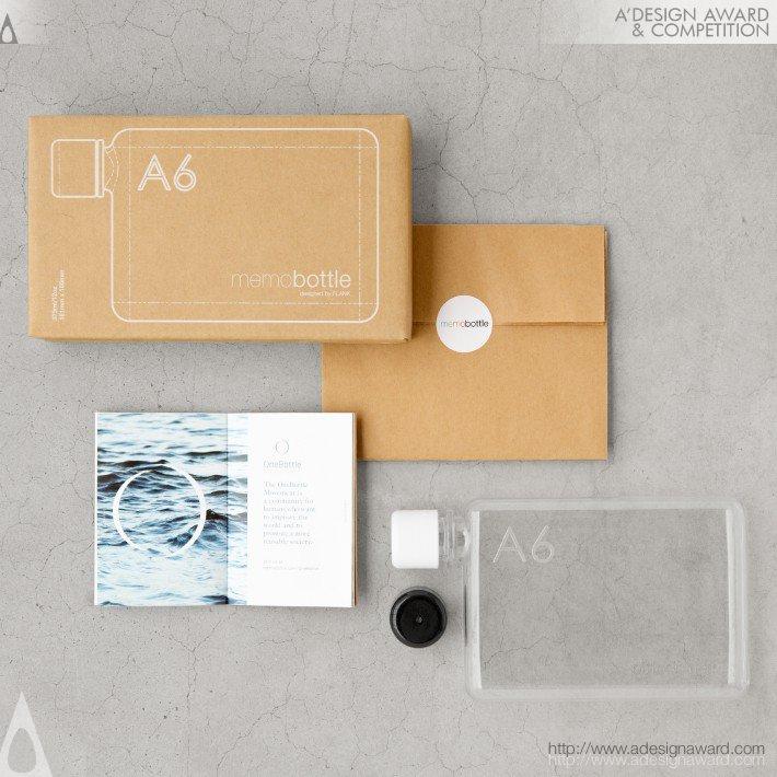 Memobottle (Slim Reusable Waterbottles Design)