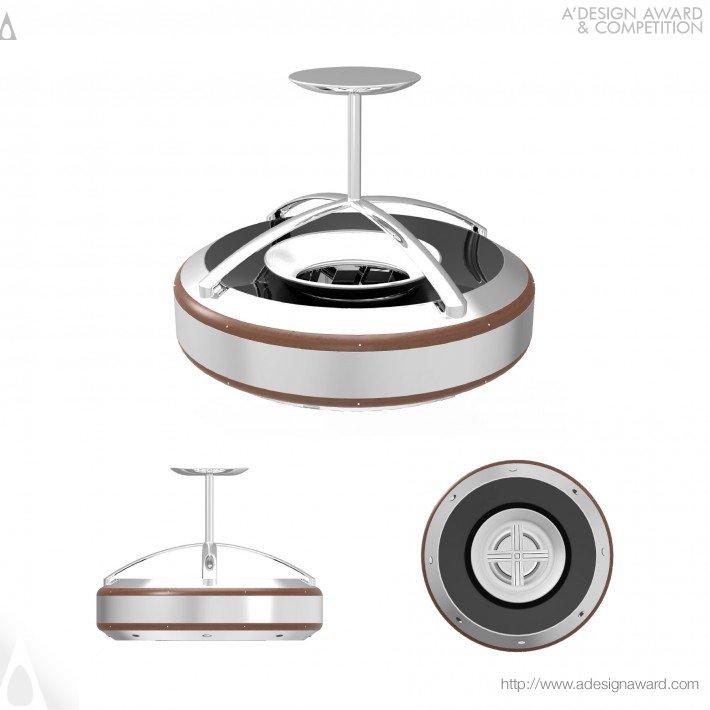 The Coanda (Ceiling Fan Design)