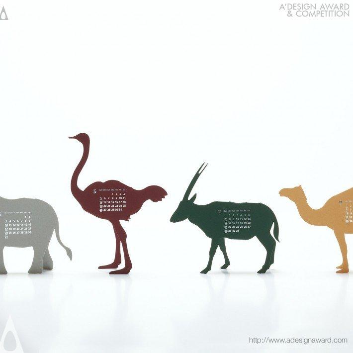 "Calendar 2013 ""safari"" (Calendar Design)"