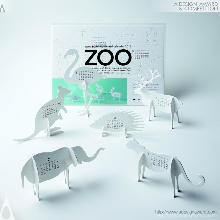 Good Morning Original Calendar 2011-Zoo (Calendar Design)