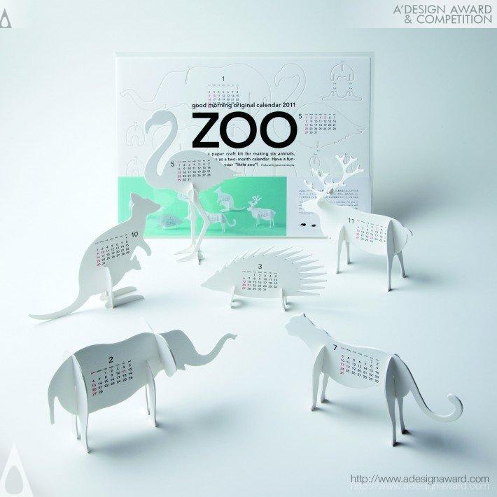 Good Morning Original Calendar 2011-Zoo (Calendar Design)
