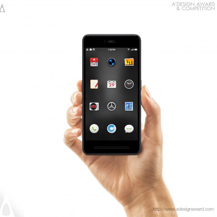 Smartisan T2 (Mobile Phone Design)