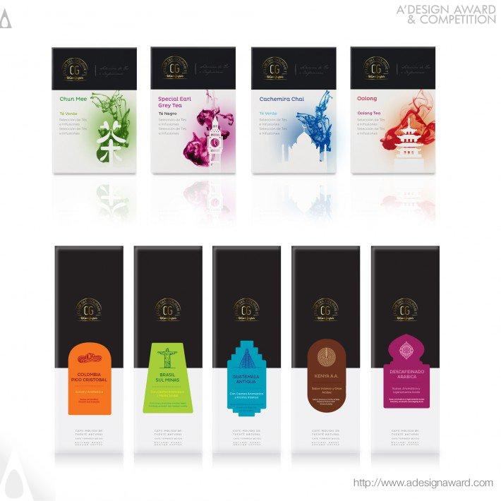Club Del Gourmet-El Corte Inglés (Packaging Design Design)