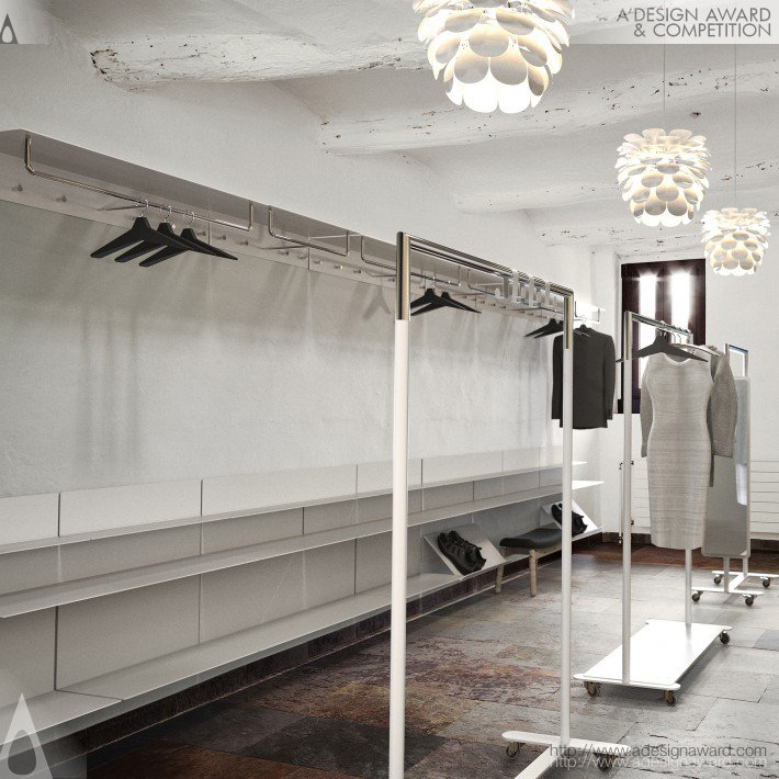 Bonnelycke mdd - Unu Shelf and Wardrobe System