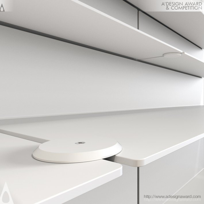 Shelf and Wardrobe System by Bonnelycke mdd
