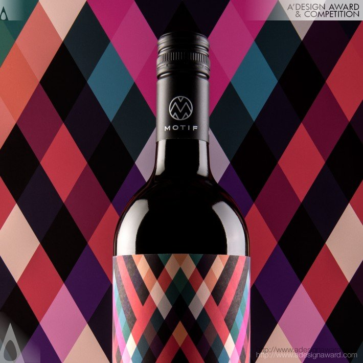 Motif Wine (Wine Packaging Design Design)