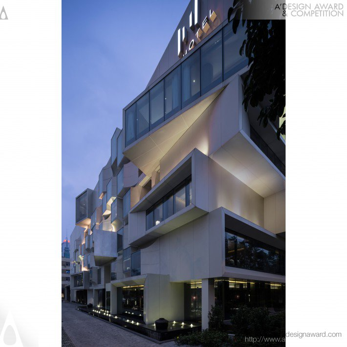 A 39 design award and competition shenzhen hui hotel for Boutique hotel group