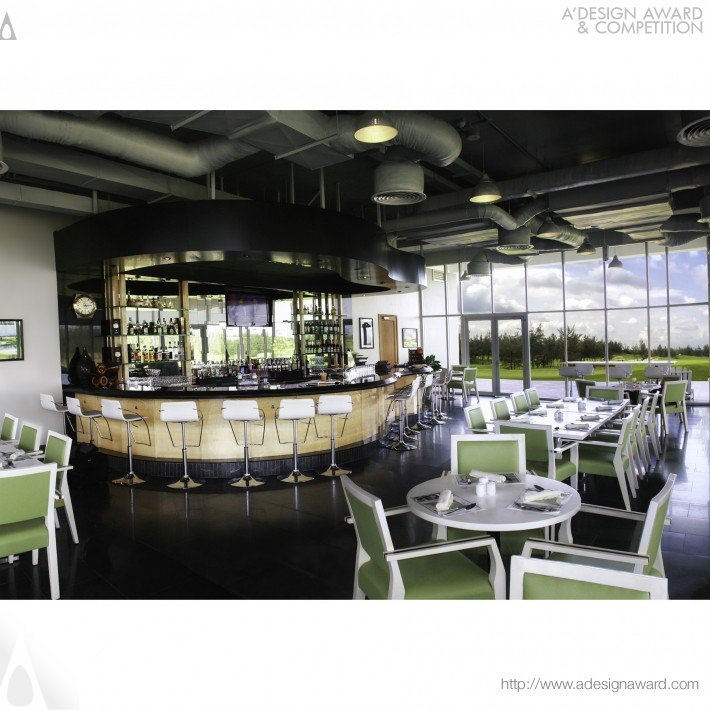 Birdie's Lounge (Golf Club Lounge Design)