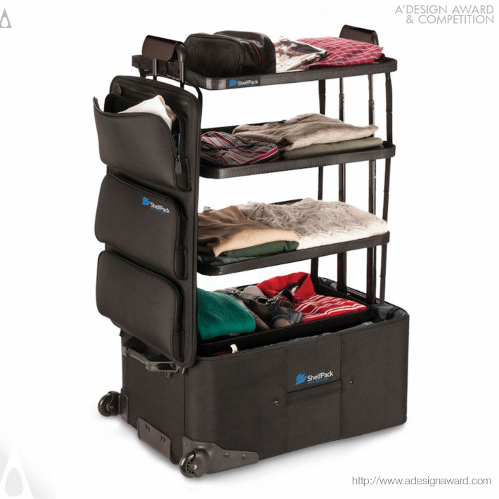 Shelfpack Luggage Packing System by Ken McKaba