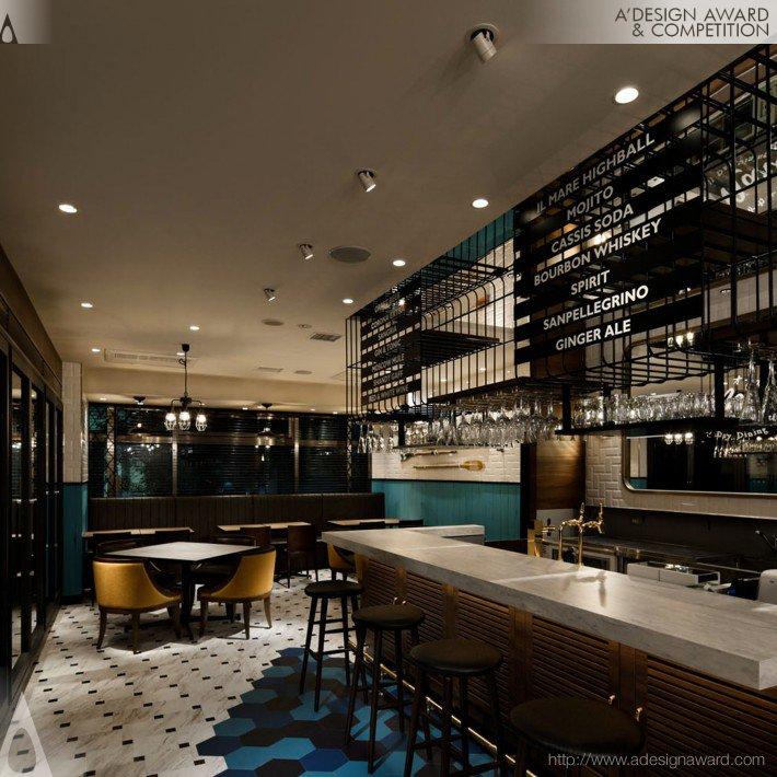 Il Mare (Bar Restaurant Design)