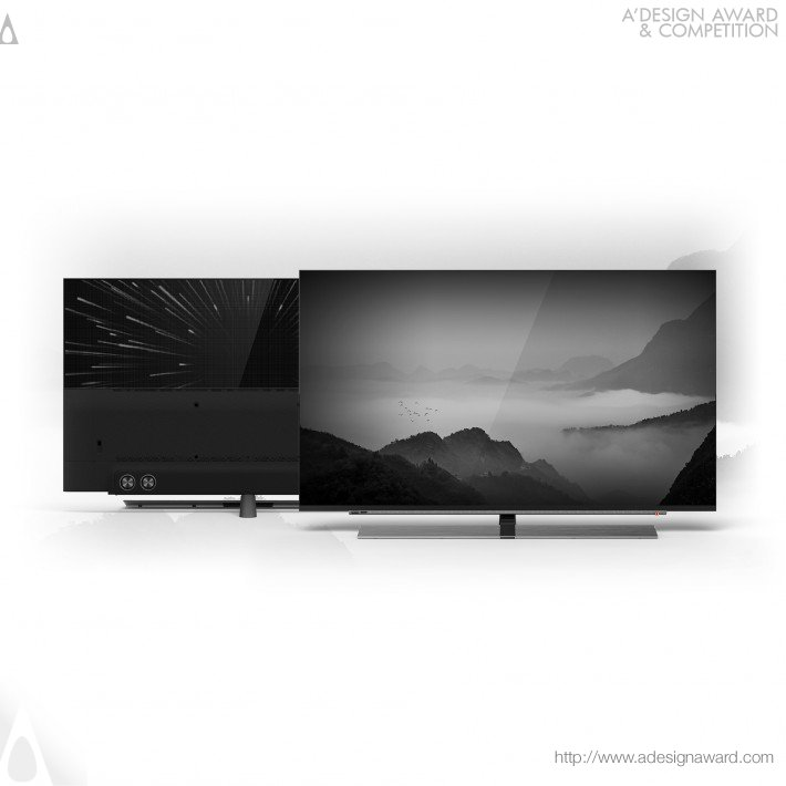 KONKA Industrial Design Team for Shenzhen Konka Electronic Technology Co., Ltd. - A3 Series Smart Tv