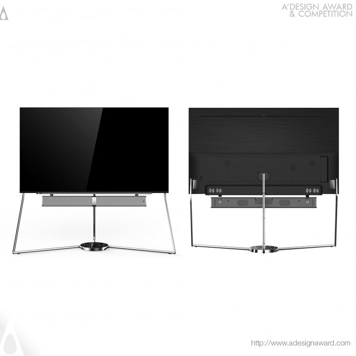 Smart Tv by KONKA Industrial Design Team for Shenzhen Konka Electronic Technology Co., Ltd.