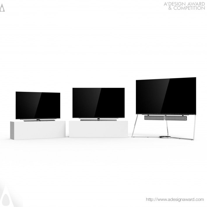 A3 Series Smart Tv by KONKA Industrial Design Team for Shenzhen Konka Electronic Technology Co., Ltd.