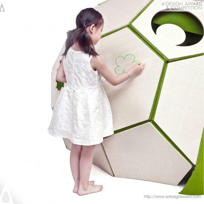 Moon House (Children Tent Design)
