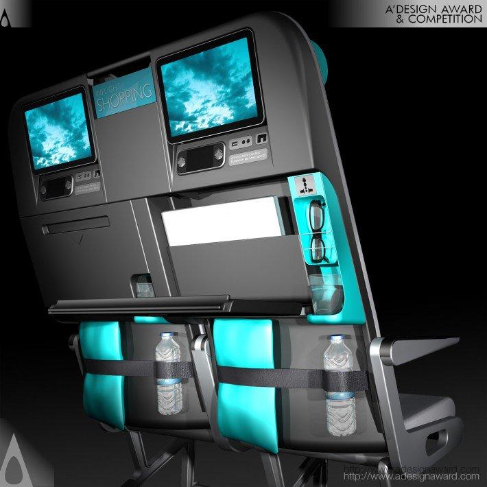 Meerkat Seat Concept (Aircraft Passenger Seat Design)