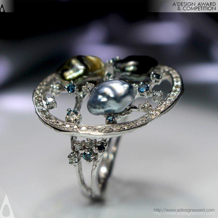 Bridge of Love (Ring, Brooch & Pendant Design)
