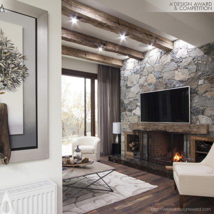 irini papalouka interior architect mountain hill chalet environmental interior design - Environmental Interior Design