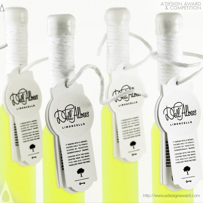 Dell' Albero Limoncello (Alcohol Packaging Design)