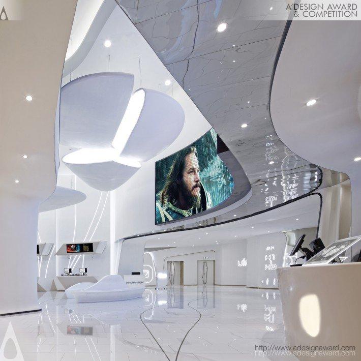 White Futura (Cinema Design)